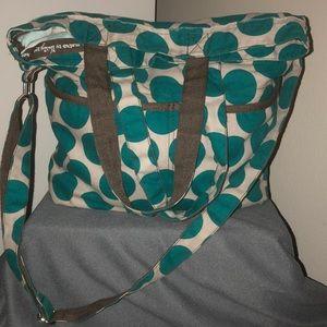 thirty-one Bags - EUC thirty-one Retro Metro Fold-Over